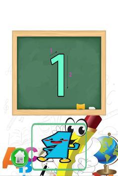 小孩学数字和学写数字 screenshot 10