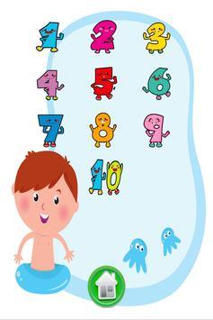 小孩学数字和学写数字 screenshot 1