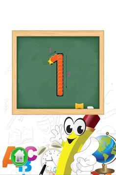 小孩学数字和学写数字 screenshot 2