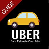 Taxi Uber Fare Estimate Calculator Guides icon