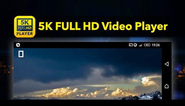 5K Video Player apk screenshot