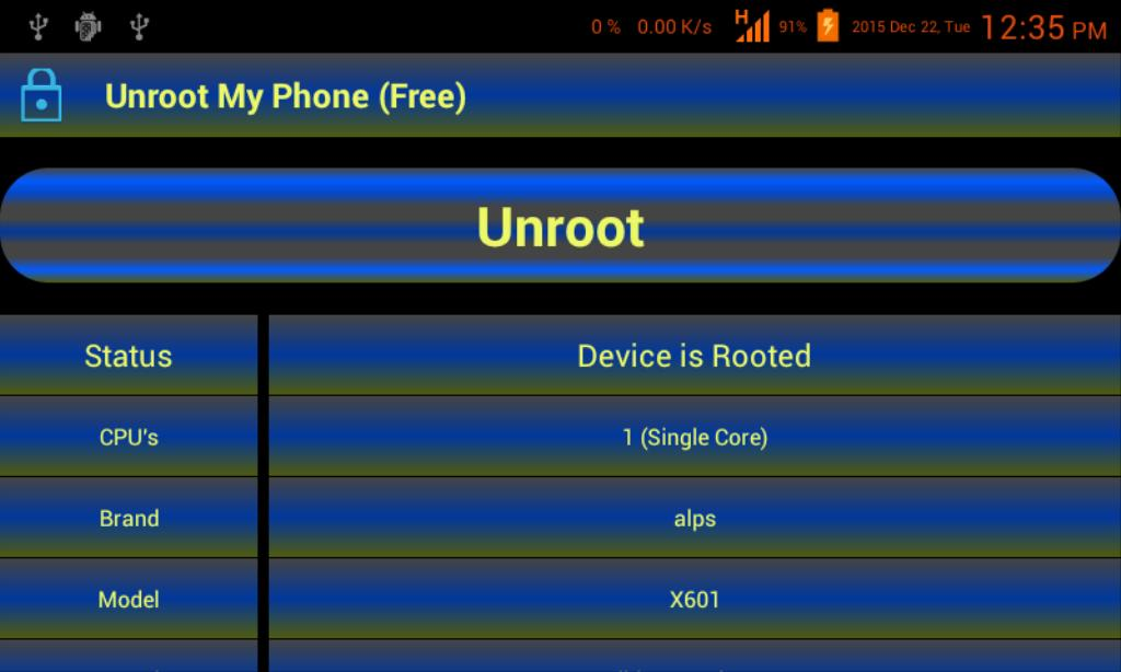 Unroot My Phone (Free) for Android - APK Download