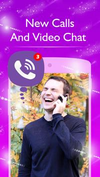 New Viber Video Call And Chatting Advice poster