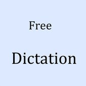 Free voice dictation icon