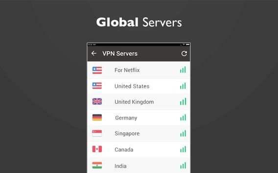 Free unblock VPN& security VPN by VPN Proxy Master 截图 5