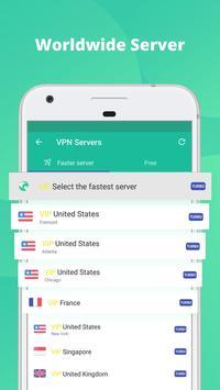 VPN Proxy Master-Free security apk screenshot