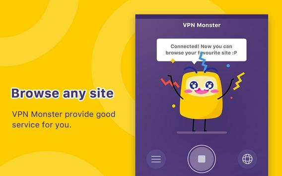 VPN Monster - free unlimited & security VPN proxy apk 截圖