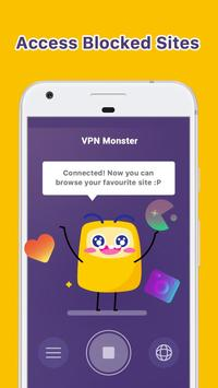 VPN Monster - free unlimited & security VPN proxy 海報