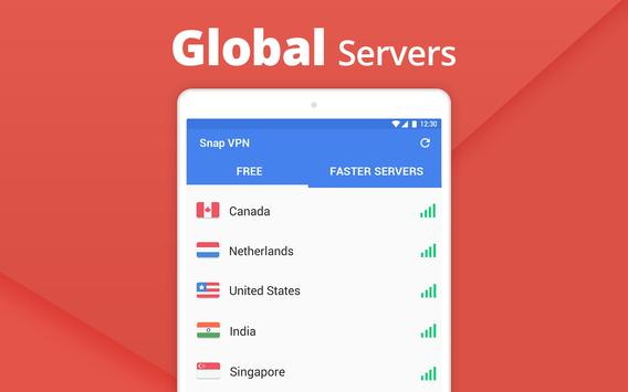 Snap VPN - Unlimited Free & Super Fast VPN Proxy apk تصوير الشاشة