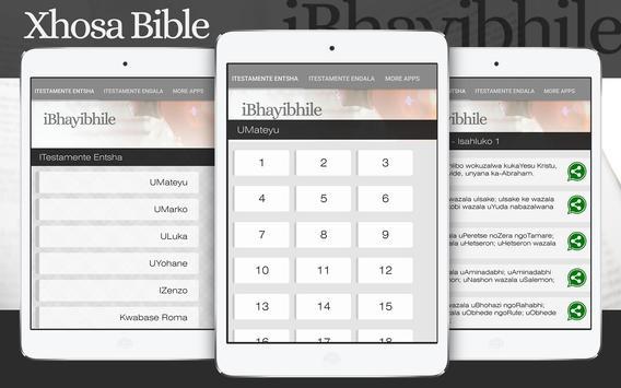 Download xhosa & zulu audio bible (ibhayibheli elingcwele) latest.