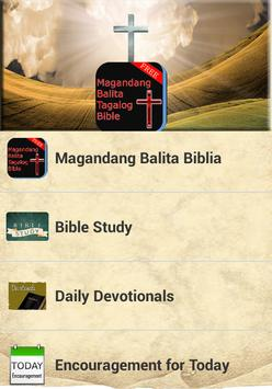 Magandang Balita Tagalog Bible apk screenshot