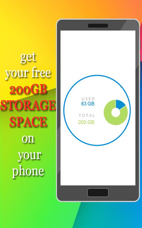 Free 200GB Phone Storage for Android - APK Download