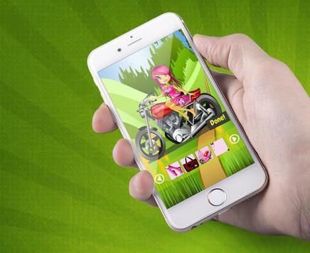Stunt Biker Race Queen Maker poster