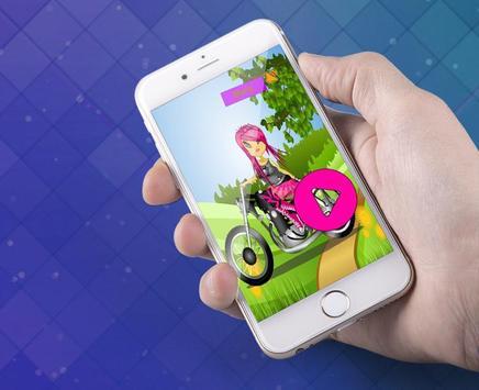 Stunt Biker Race Queen Maker screenshot 1