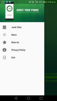 Ram Booster - Cleaner Master screenshot 4