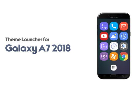 Theme for Galaxy A7 2018 poster