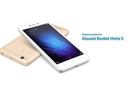 Theme for Xiaomi Redmi Note 5 poster
