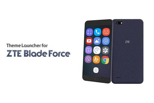 Theme for ZTE Blade force poster