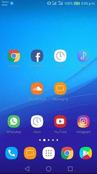 Theme for ZTE Blade force apk screenshot