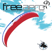 free.aero, free paragliding paramotoring magazine icon