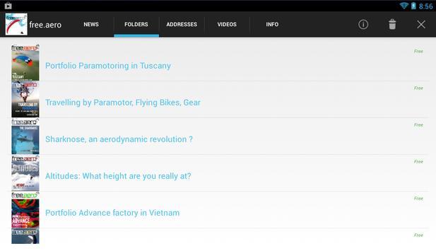 free.aero, free paragliding paramotoring magazine apk screenshot