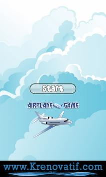 Airplane Game for Kids Free poster