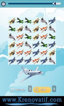 Airplane Game for Kids Free screenshot 1