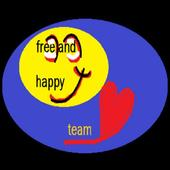 Free and HAPPY Team icon
