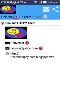 Free and HAPPY Team poster