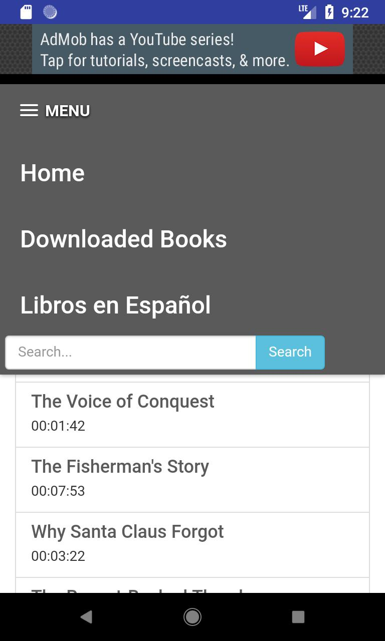 Free audiobooks for Android - APK Download