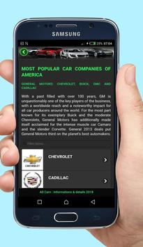 All Cars informations & details 2018 screenshot 18