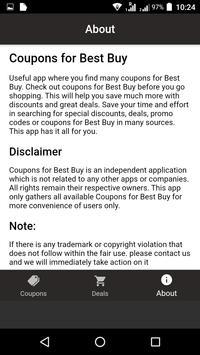 Coupons for Best Buy screenshot 2