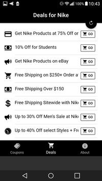 Coupons For Nike screenshot 2