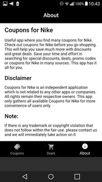 Coupons For Nike screenshot 3