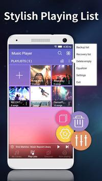 Music player - Audio Player screenshot 1