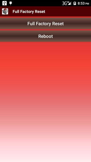 Full Factory Reset for Android - APK Download