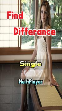A Spot the Differences Game poster