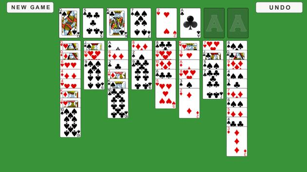 FreeCell Solitaire apk screenshot