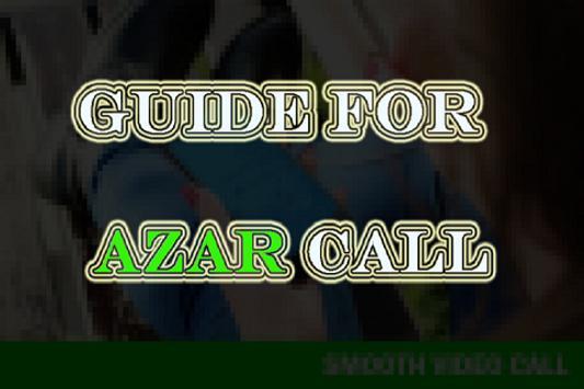 Free Azar Video Call Chat tip screenshot 1