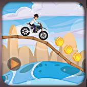 Crazy Jungle Ben Bike Race icon