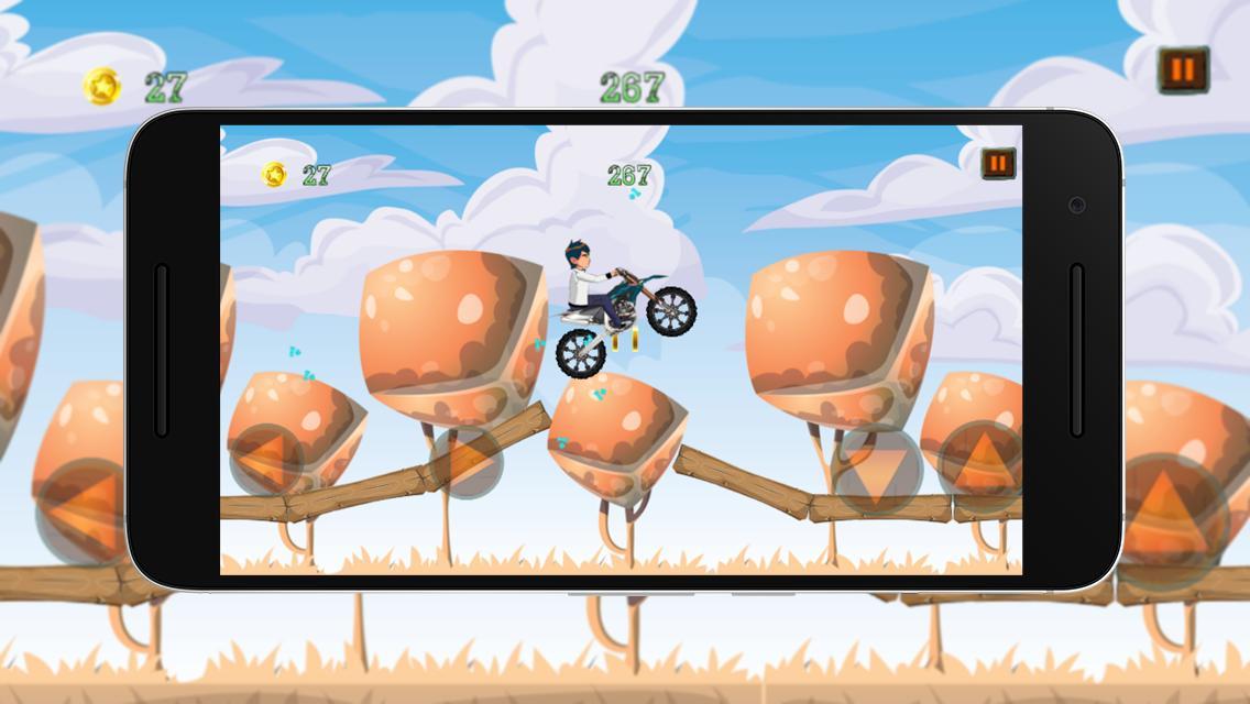Crazy Jungle Ben Bike Race poster