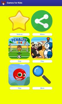 Games for Kids Free poster
