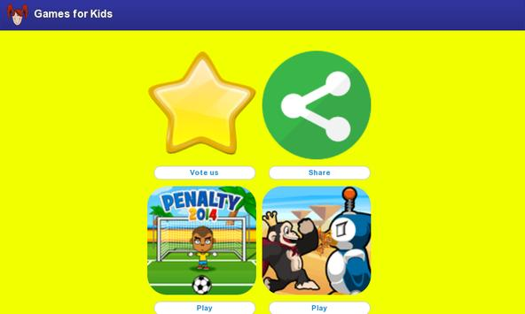 Games for Kids Free screenshot 1