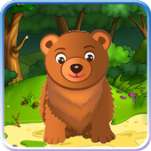 Funny animals Forest icon