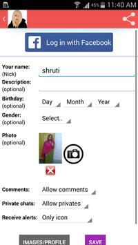 Free girls chat screenshot 1