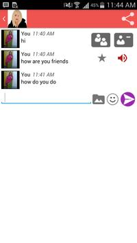 Free girls chat screenshot 2