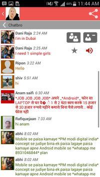 Free girls chat screenshot 3