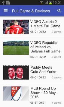 Live Football Soccer HiLights screenshot 1