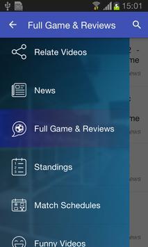 Live Football Soccer HiLights screenshot 2