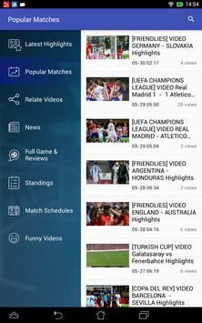 Live Football Soccer HiLights screenshot 3